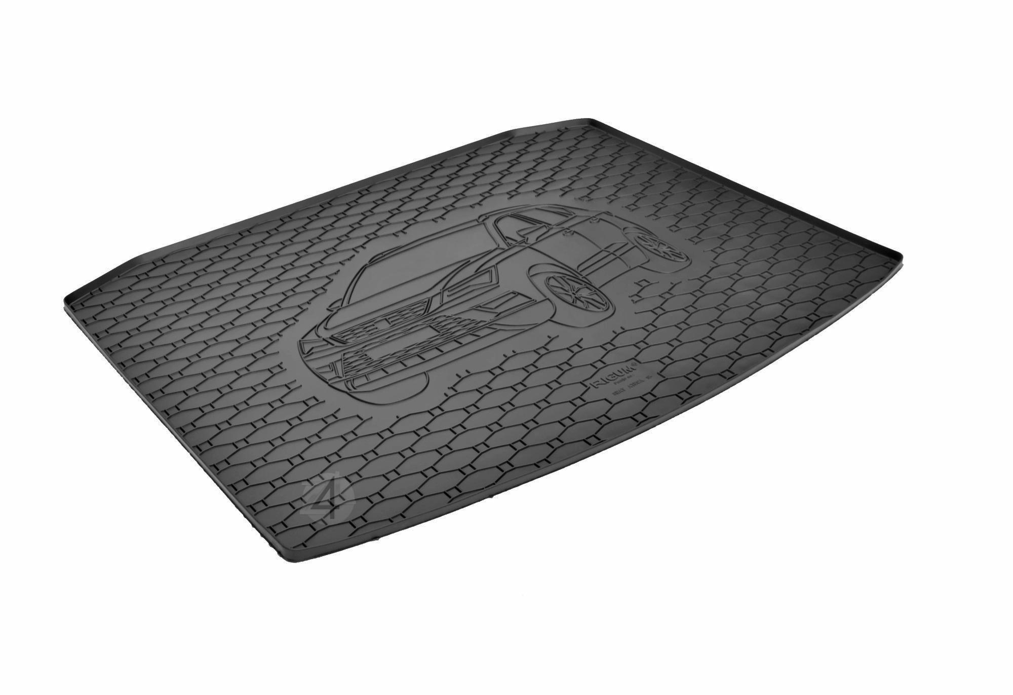 SEAT Ateca 4x2 (2016-) Dedykowana Mata do bagażnika RIGUM