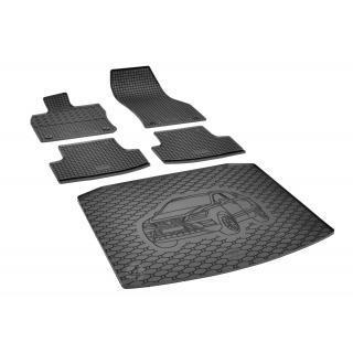 SEAT Ateca 4x2 (2016-) Zestaw dywaniki i mata do bagażnika